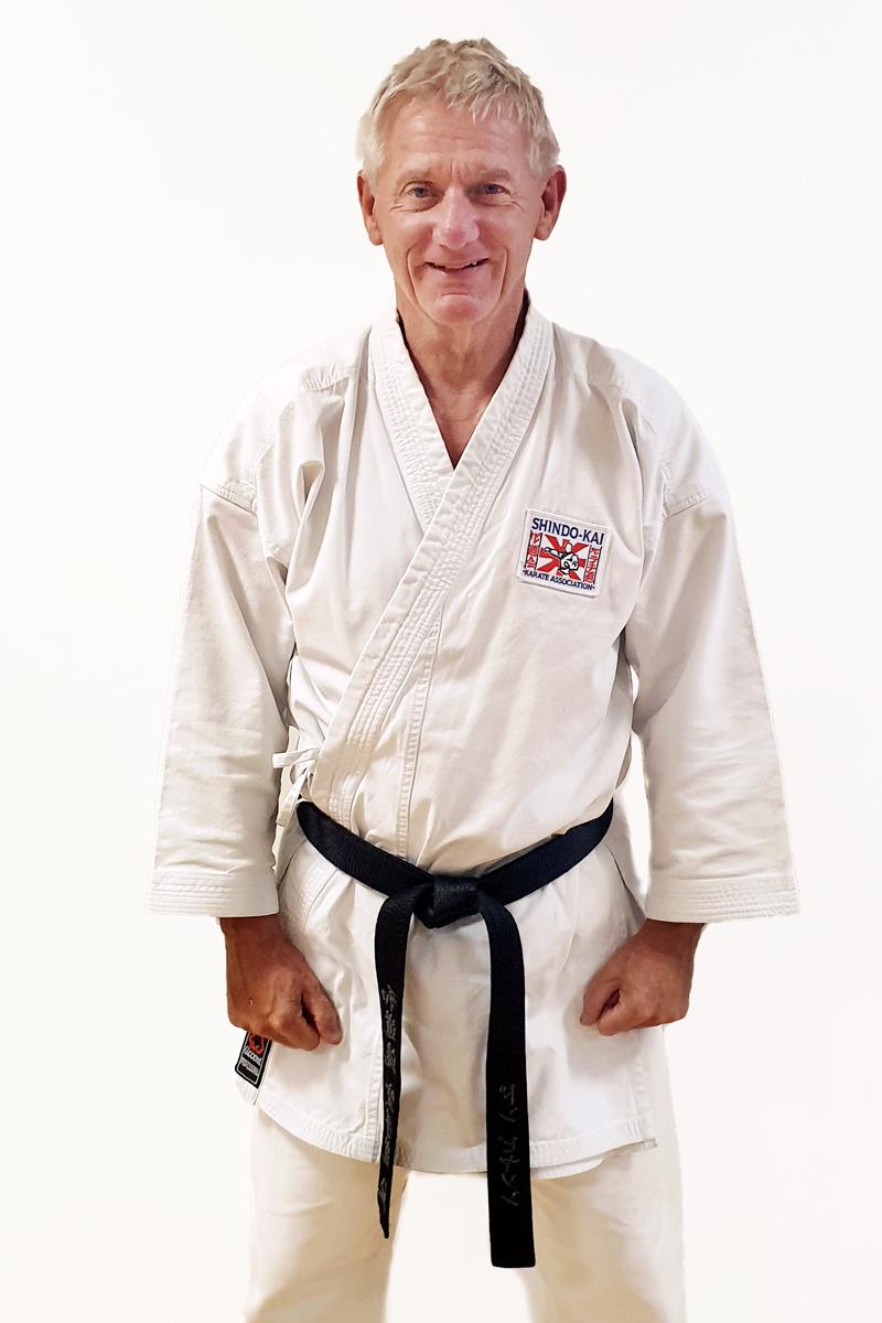 Sensei Don Pearson Black Belt 1st Dan