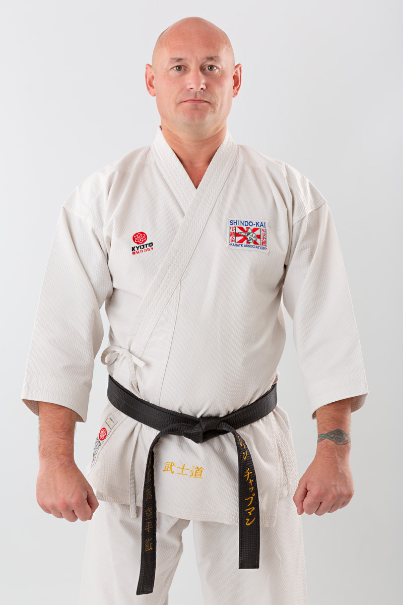 Penistone Karate Centre Jon Chapman 5th Dan